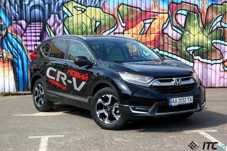 Honda CR-V: любимец детей и семьи! Но как на счет водителя?