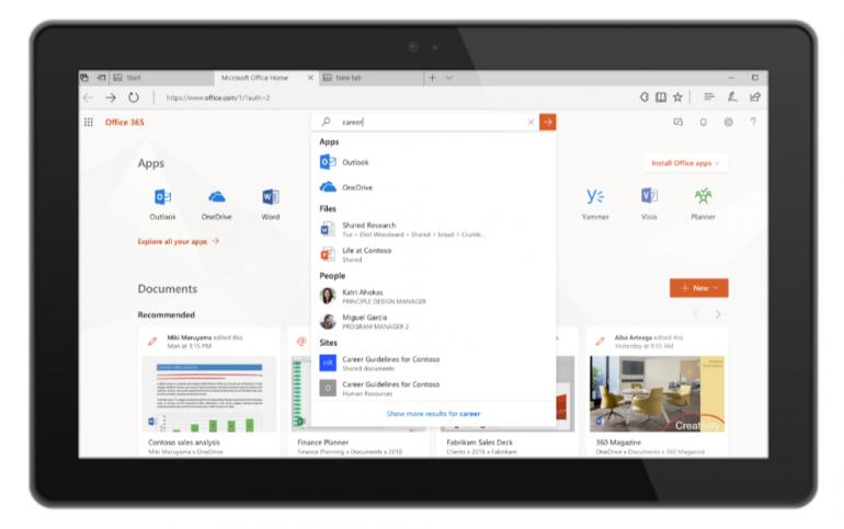 Новый поиск Microsoft Search будет использоваться в Office, Windows, Bing и других продуктах компании - ITC.ua