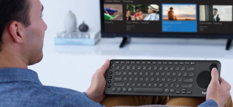 Logitech представила клавиатуру стоимостью $70 для умных телевизоров