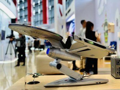 Lenovo создала производительный компьютер Titanium Enterprise в стиле звездолёта из Star Trek