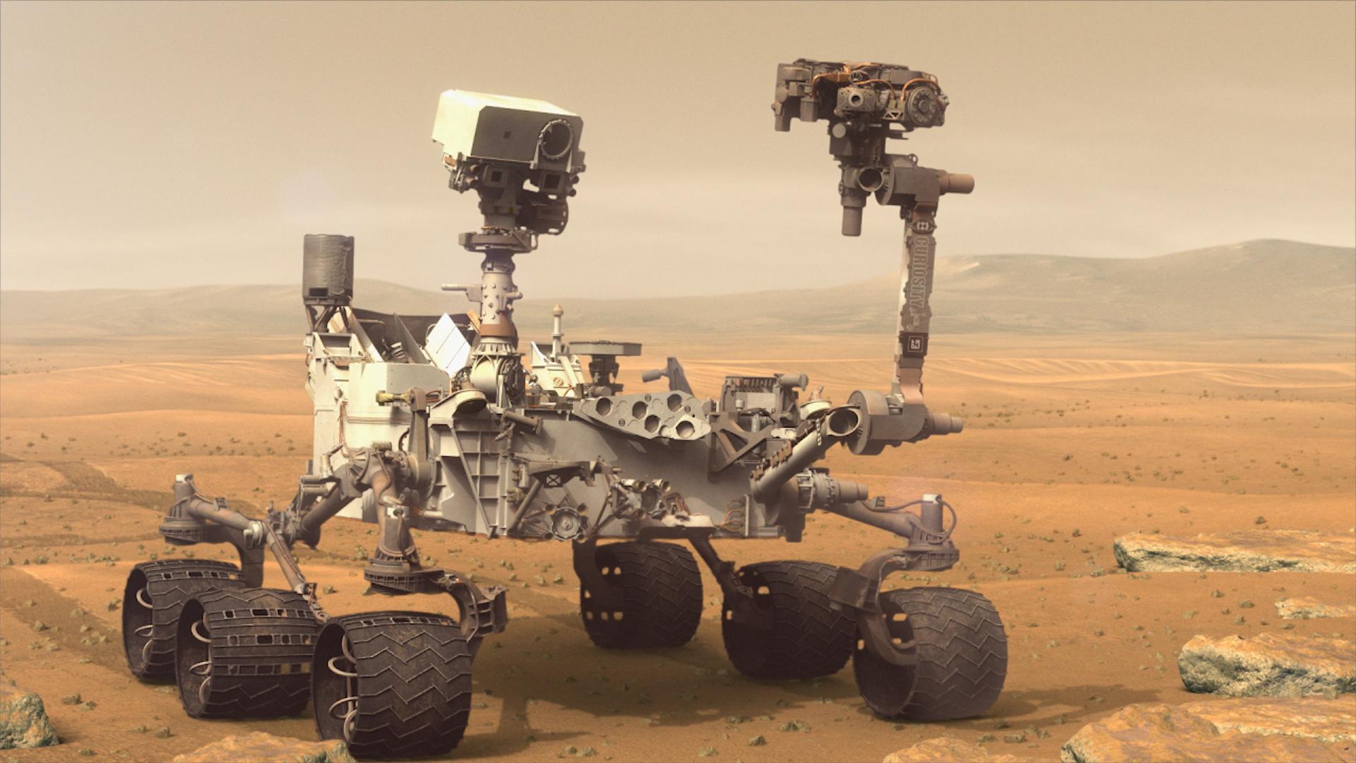 Марсоход Curiosity остановил работу научных инструментов из-за сложностей спередачей данных