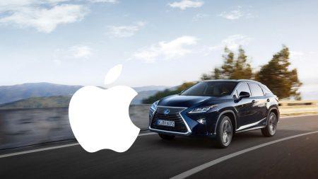 Беспилотный автомобиль Apple попал в первое ДТП