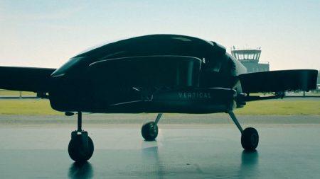 Британская компания Vertical Aerospace испытала летающее такси будущего