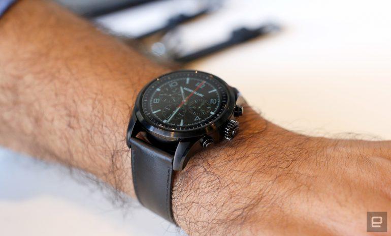 Montblanc Summit 2 станут первыми умными часами на базе нового чипсета Snapdragon Wear 3100