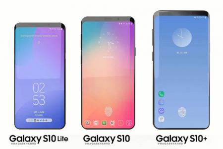 Смартфон Samsung Galaxy S10 немного вытянется за счет нового экрана Infinity Display с соотношением сторон 19:9
