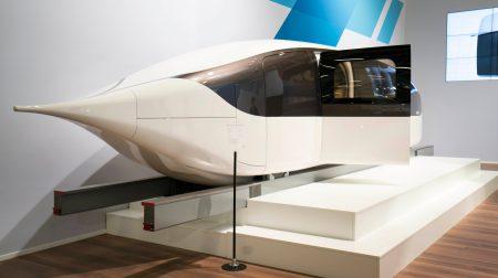 «Hyperloop по-белорусски»: представлен транспортный модуль, способный разгоняться до 500 км/ч