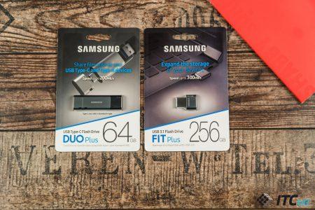 Обзор флеш-накопителей Samsung Fit Plus и DUO Plus