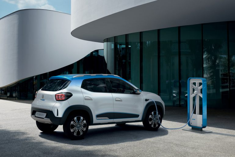 Renault представила бюджетный электромобиль Renault K-ZE с запасом хода 250 км (NEDC), который выйдет на рынок уже в 2019 году