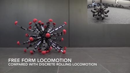 Колобок, которого мы заслужили: японский робот с 32 ногами