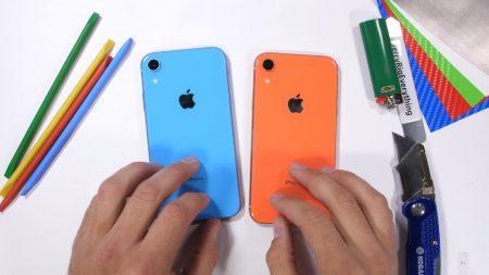 JerryRigEverything испытал новый смартфон Apple iPhone XR на прочность и разобрал его, чтобы оценить конструкцию [видео]