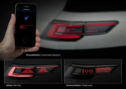 Volkswagen показал, на что способны интерактивные матричные фары следующего поколения [фотогалерея]