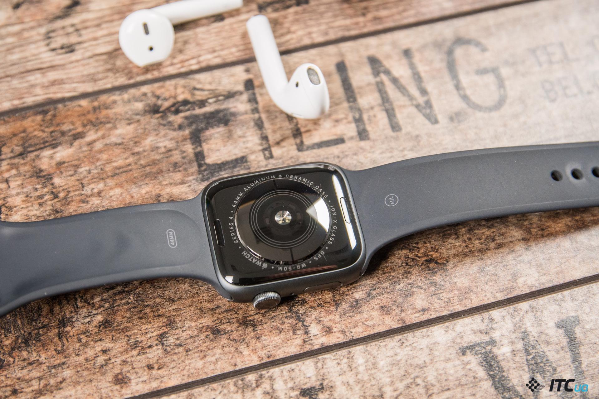 керамика Apple Watch Series 4
