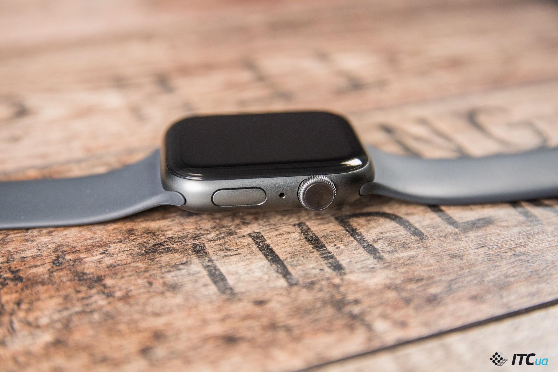колесо Apple Watch Series 4