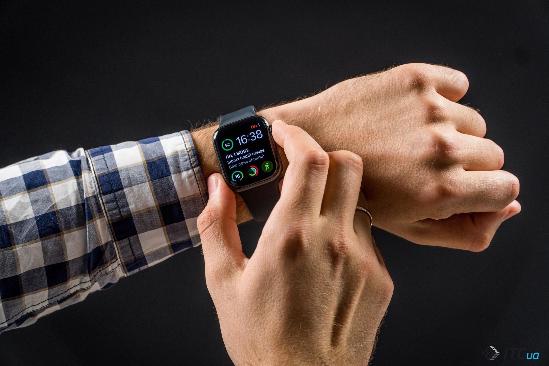 ЭКГ Apple Watch Series 4