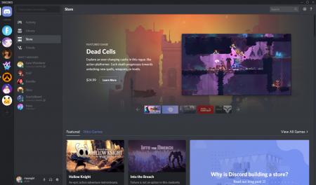 Создатели чата для геймеров запустили собственный магазин игр Discord Store с избранными играми и ежемесячной подпиской Nitro