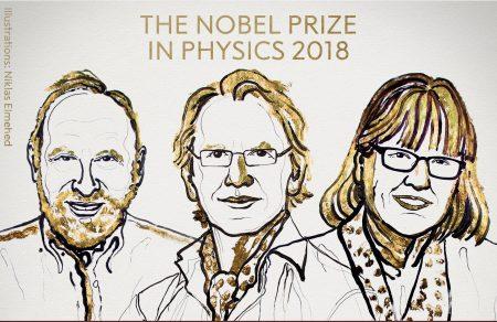 Нобелевскую премию по физике дали за достижения в области лазерной оптики