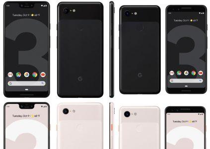 Опубликованы новые снимки Pixel 3, Pixel 3 XL, Pixel Slate и розничной коробки вместе с содержимым