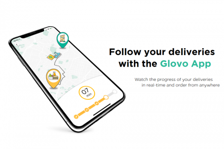 В Киеве запустили международный сервис Glovo для быстрой доставки товаров в пределах города
