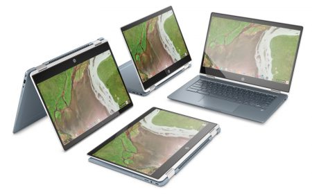 Анонсирован сверхтонкий хромбук-трансформер HP Chromebook x360 14 с Intel Core i3 / i5 восьмого поколения, 8 ГБ ОЗУ и SSD 64 ГБ по цене от $599