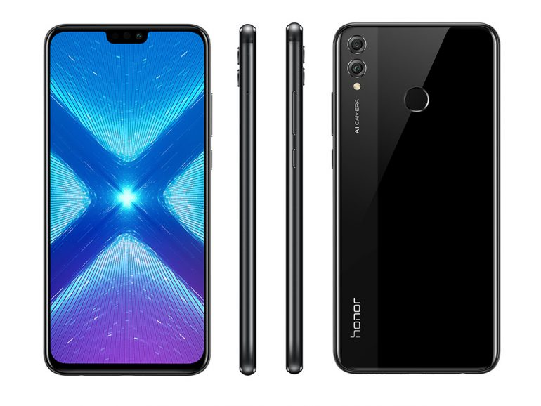 Завтра в Украине стартуют продажи смартфона Honor 8X по цене 7699 грн