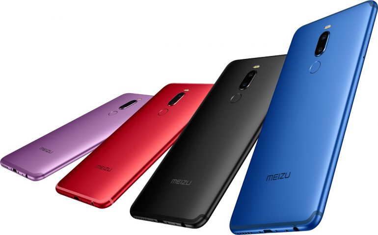Meizu M8 Note - безрамочный 6-дюймовый смартфон с процессором Snapdragon 632, 4 ГБ ОЗУ, 64 ГБ памяти и батареей на 3600 мАч за $185