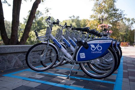 Из-за краж и вандализма прокат велосипедов Nextbike в Киеве со следующего года может подорожать