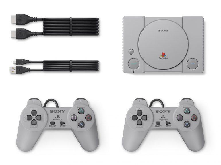 Sony огласила полный список из 20 классических игр, которые будут предустановлены на мини-консоль PlayStation Classic