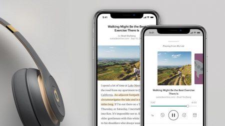 Pocket обновил интерфейс приложения и улучшил функцию озвучивания текста, которая превращает сохраненные статьи в аудиоподкасты