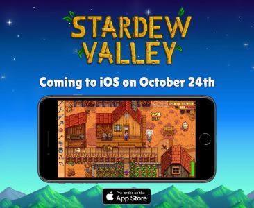 Популярный симулятор фермера Stardew Valley впервые появится на смартфонах (сначала на iOS, потом на Android)