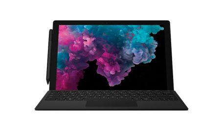 Представлен новый планшет Microsoft Surface Pro 6, получивший новые процессоры Intel и черный матовый цвет корпуса
