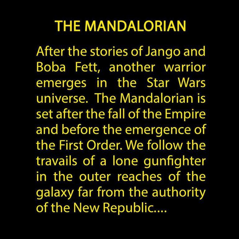 Новости Звездных Войн (Star Wars news): Новый сериал Disney по вселенной Star Wars будет называться The Mandalorian / «Мандалорец», Джон Фавро опубликовал синопсис проекта