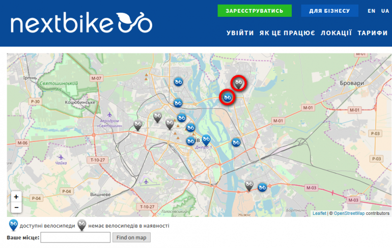 «Жизнь дала трещину…»: Nextbike закрыл две станции проката велосипедов на Троещине из-за участившихся случаев вандализма и попыток угона