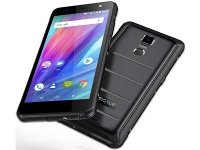 В Украине стартовали продажи 5,5-дюймового смартфона Sigma mobile X-treme PQ37 в защищенном тонком корпусе по цене 8444 грн