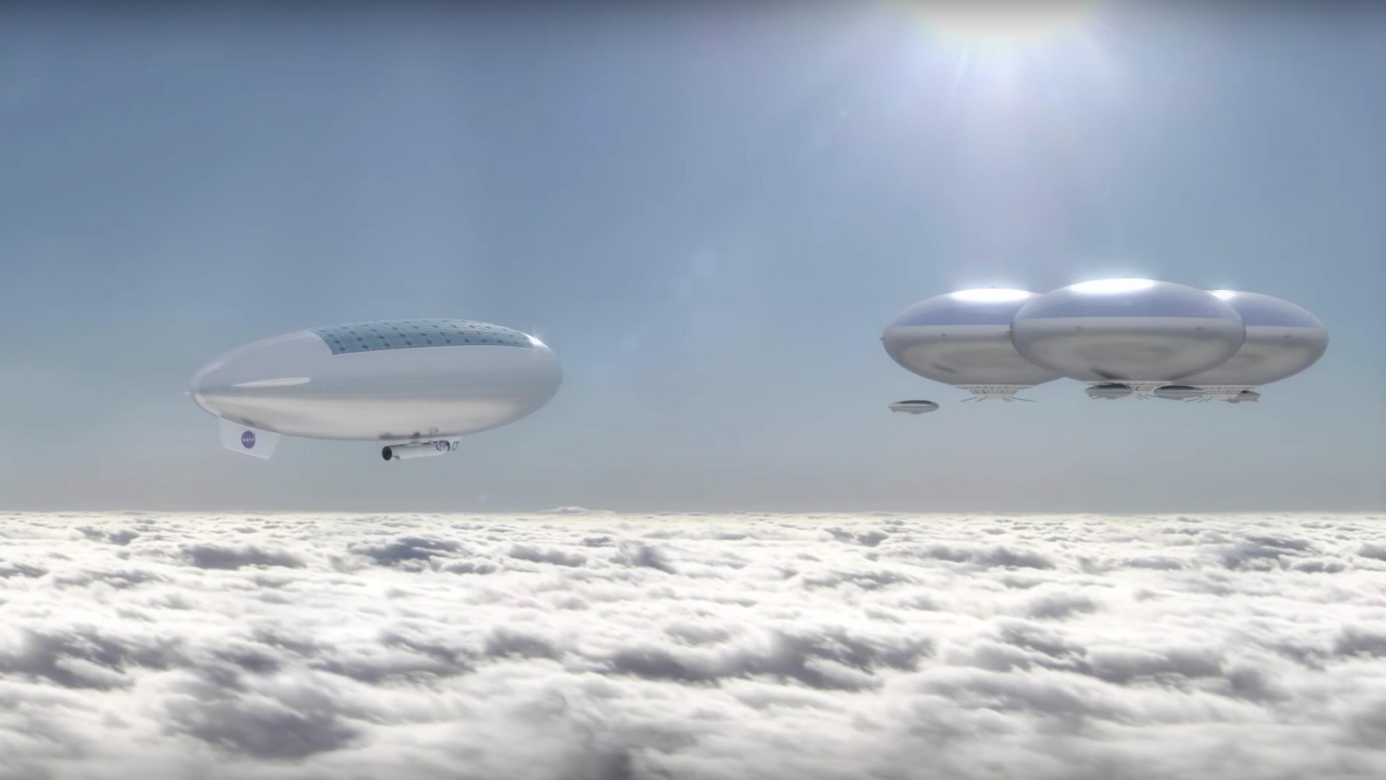 Как это может быть? НАСА планирует отправить людей наВенеру