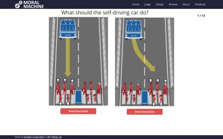 Ученые MIT провели глобальный опрос и выяснили, чьими жизнями автопилоту допустимо жертвовать при неминуемом ДТП