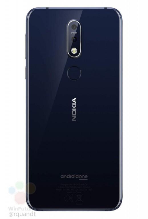 Утечка раскрыла дизайн, характеристики и цены смартфона Nokia 7.1