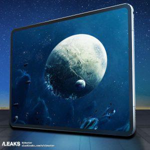 Опубликованы чертежи и изображения трехмерных моделей новых iPad Pro 2018 года