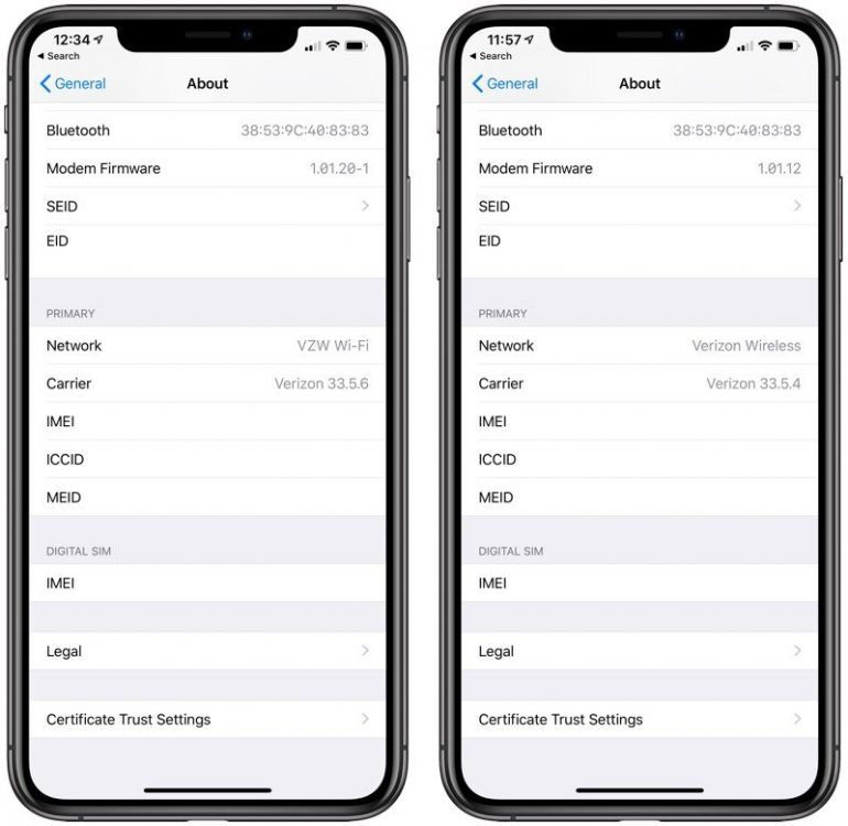 Apple активно расследует ситуацию с ухудшившейся связью в iPhone Xs и iPhone Xs Max