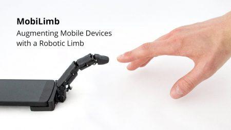 Инженеры MobiLimb представили роботизированный палец для смартфонов