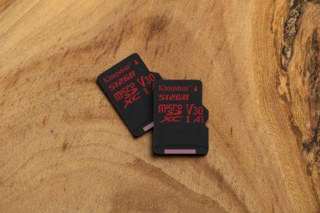 Kingston расширил модельный ряд карт памяти Canvas React, добавив SD и microSD версии емкостью до 512 ГБ