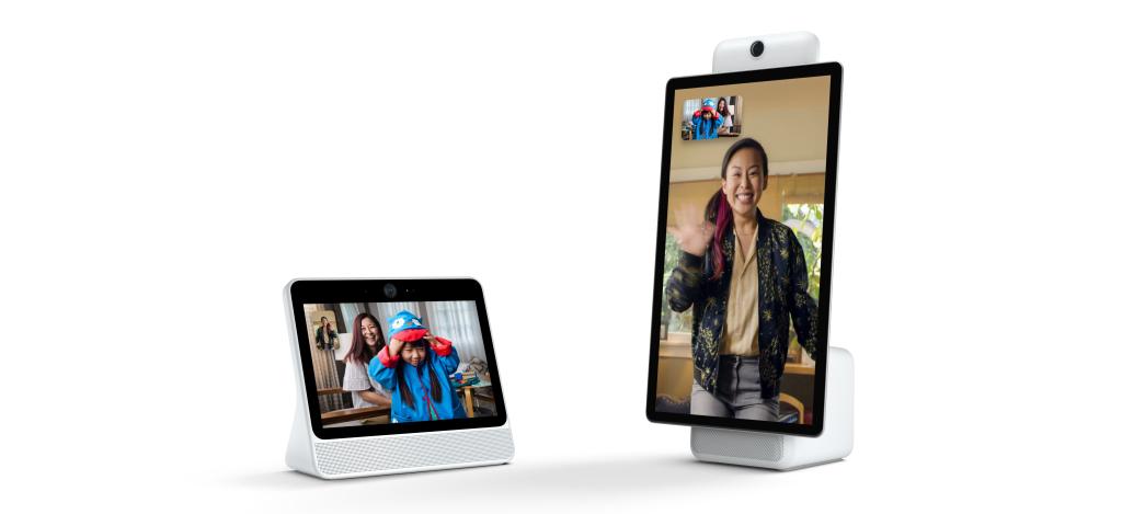 Facebook представила умные дисплеи Portal и Portal+ с поддержкой голосового помощника Amazon Alexa