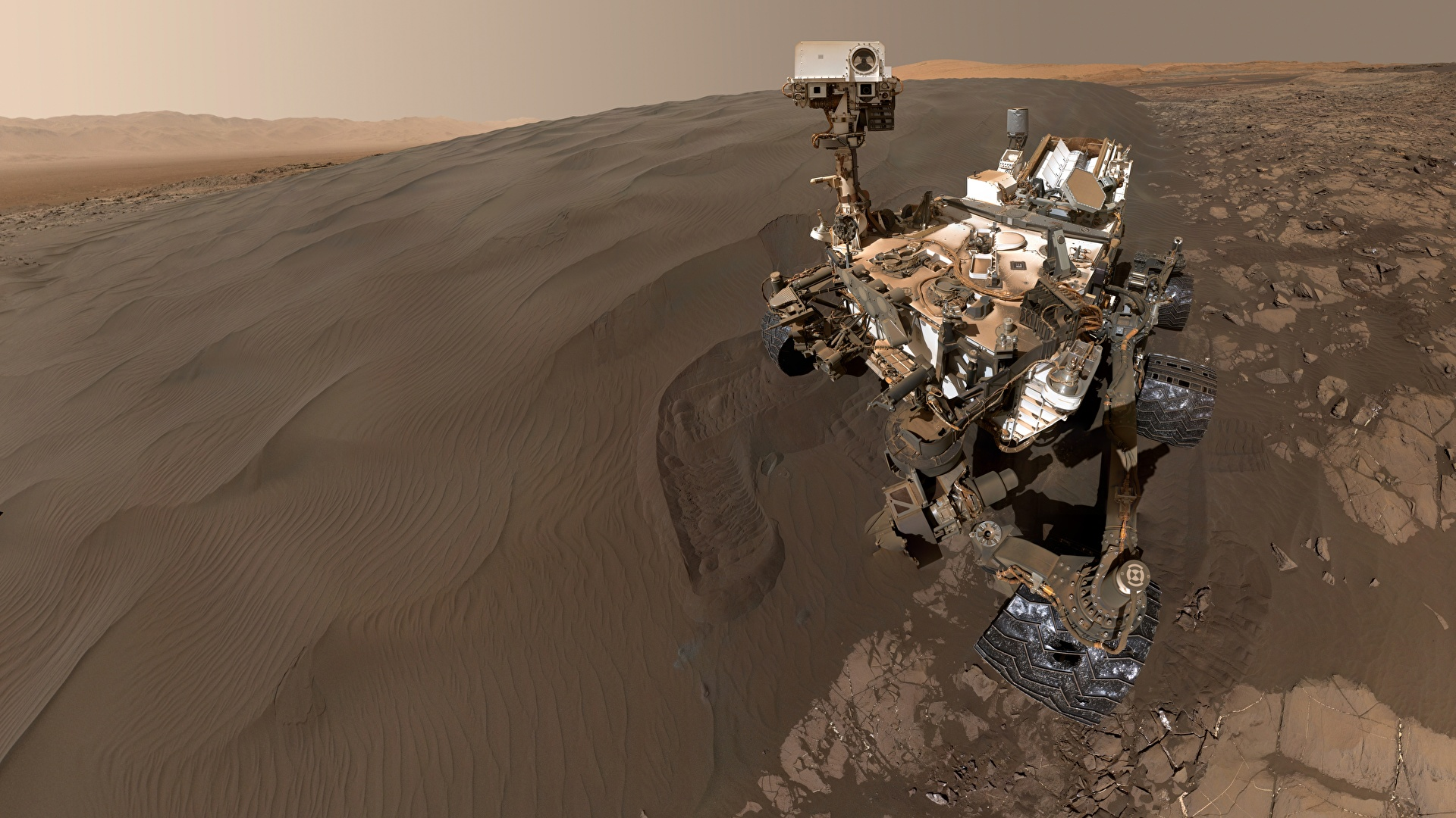 mars rover findings - HD 1920×1080