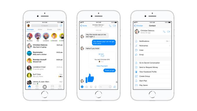 Facebook выпустила крупное обновление Messenger с более простым и понятным интерфейсом