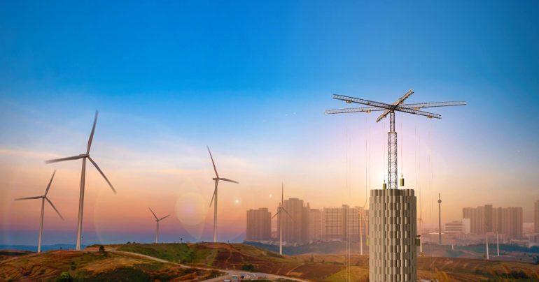 Стартап Energy Vault предложил хранить электроэнергию в конструкциях из бетонных блоков