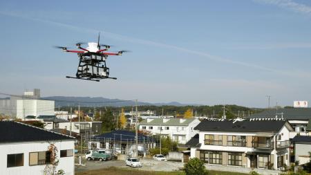 Почтовый оператор Японии Japan Post впервые в стране начал регулярно перевозить почту дронами