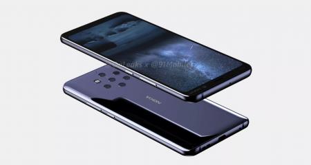 Презентация смартфона Nokia 9 PureView с пятью камерами на задней панели перенесена на конец года