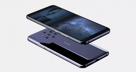 Unsung handset smartphone Nokia 9 (Olympic) with