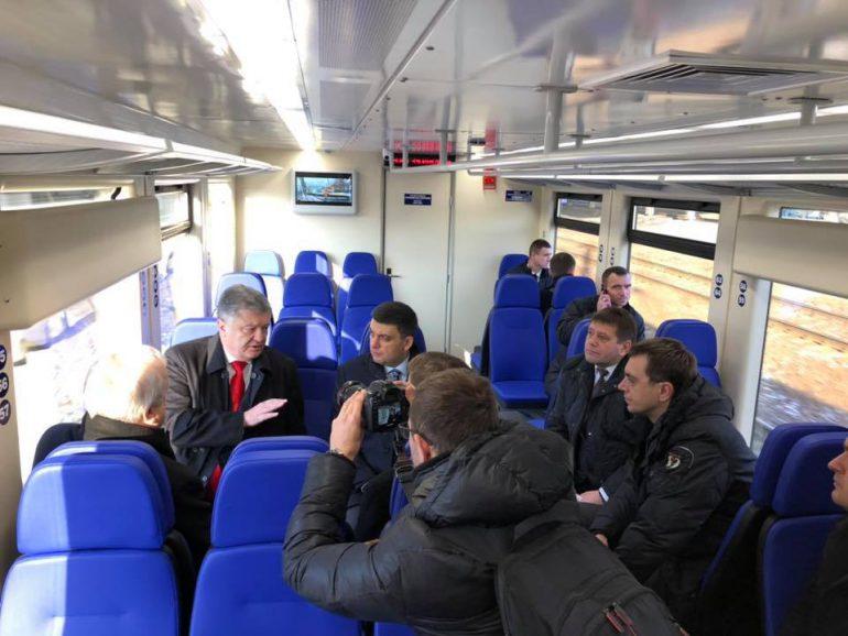 Kyiv Boryspil Express между ЖД-вокзалом столицы и аэропортом «Борисполь» запущен официально
