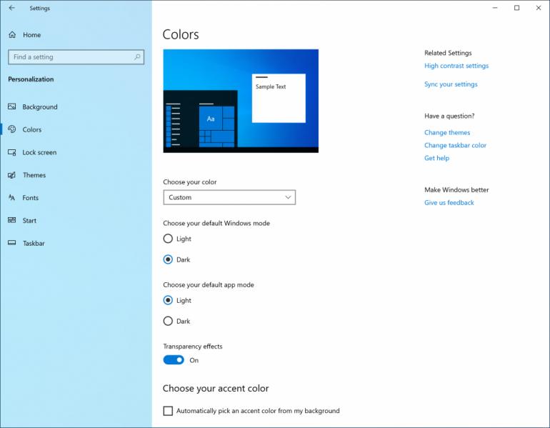Microsoft добавит в Windows 10 новую светлую тему оформления