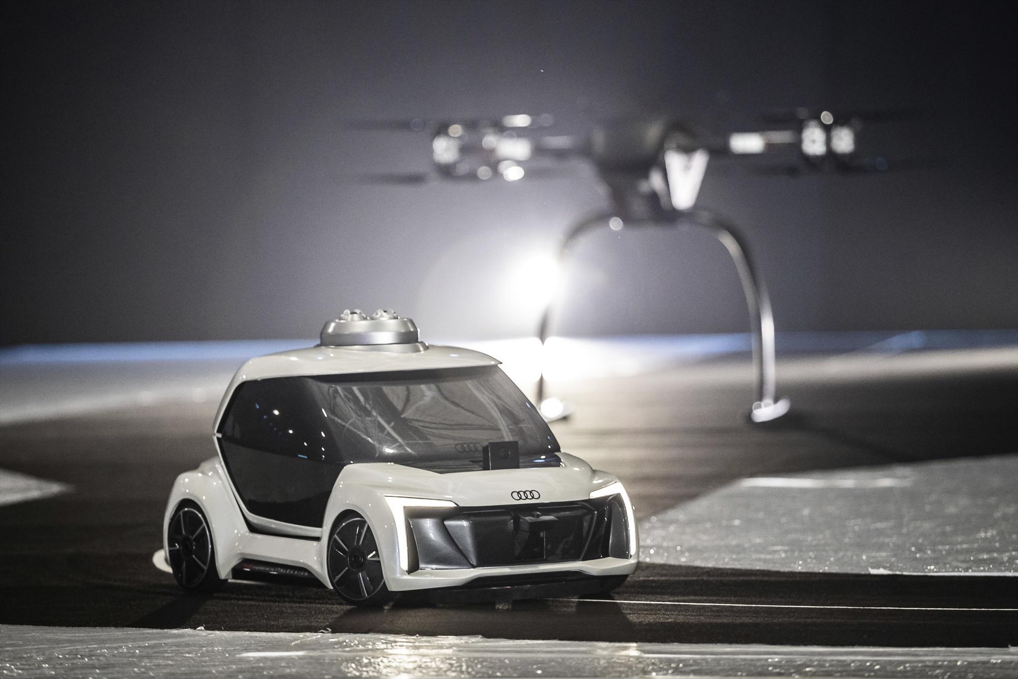 Испытано автономное летно-дорожное такси отAudi иAirbus
